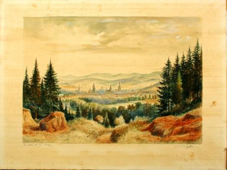 Restaurierung von Zeichnungen, Aquarellen, Pastellen und Malerei