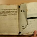 Papierrestaurierung-Buchrestaurierung
