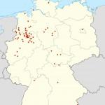 Kundenverteilung in Deutschland